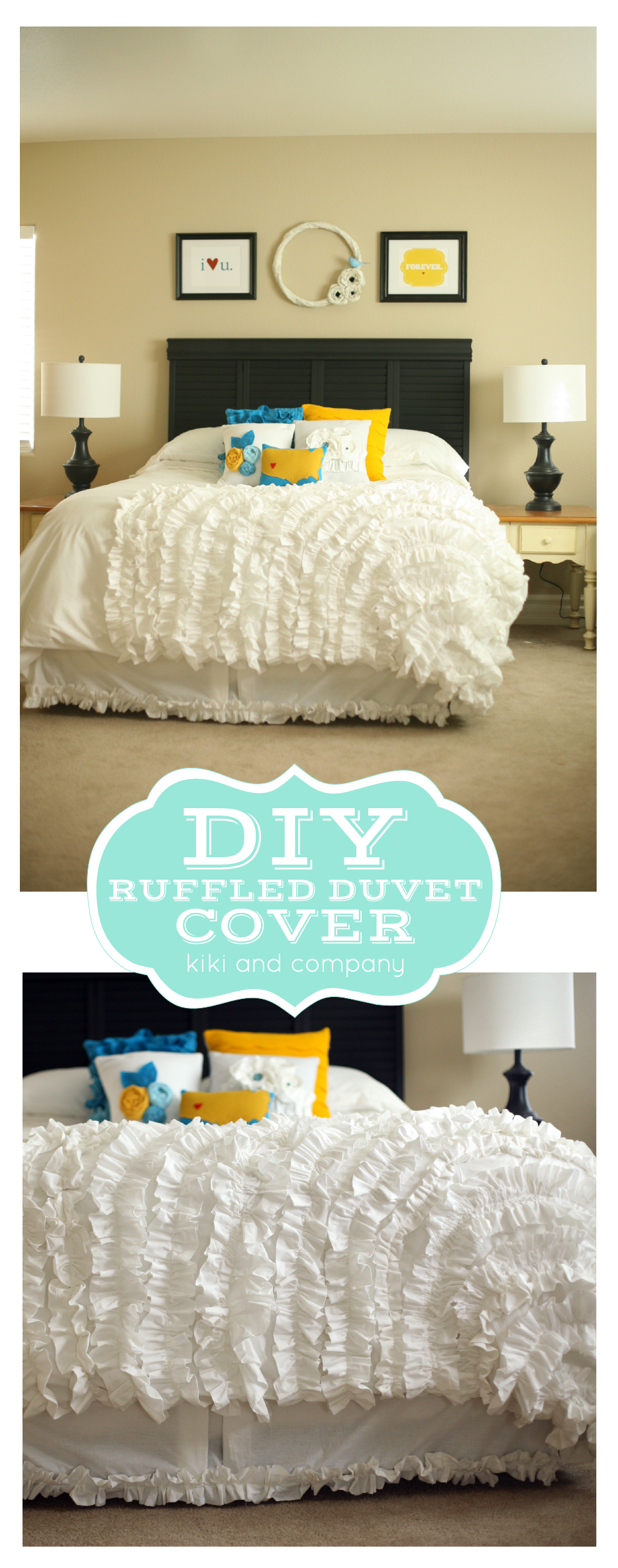 waterfall pin ruffles ruffle and duvet cover