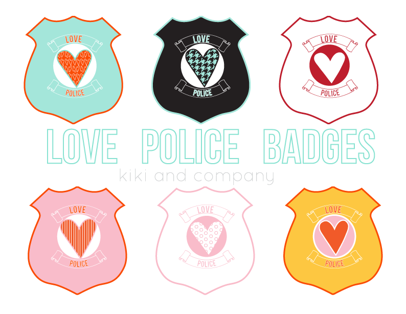 photograph about Printable Police Badges called Take pleasure in Law enforcement Badges free of charge obtain - Kiki Business enterprise