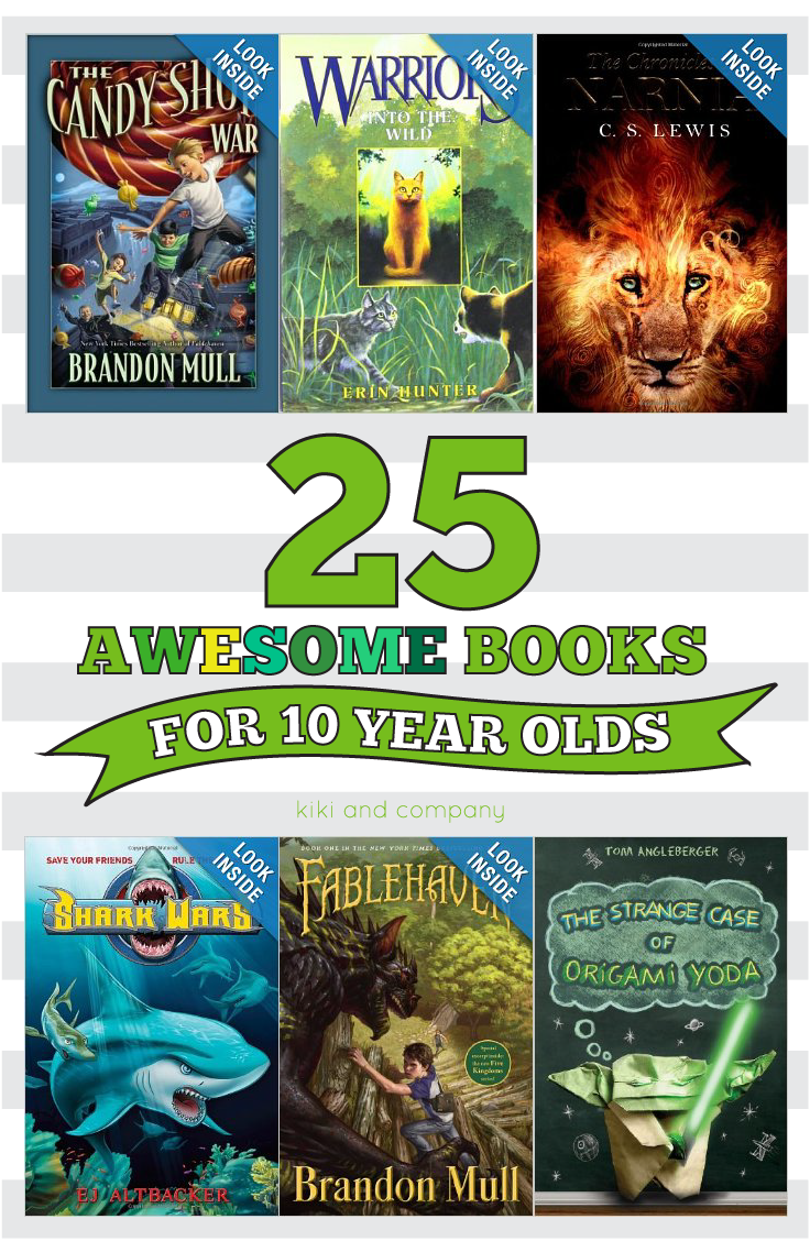 25 Awesome Books For 10 Year Olds Kiki Company