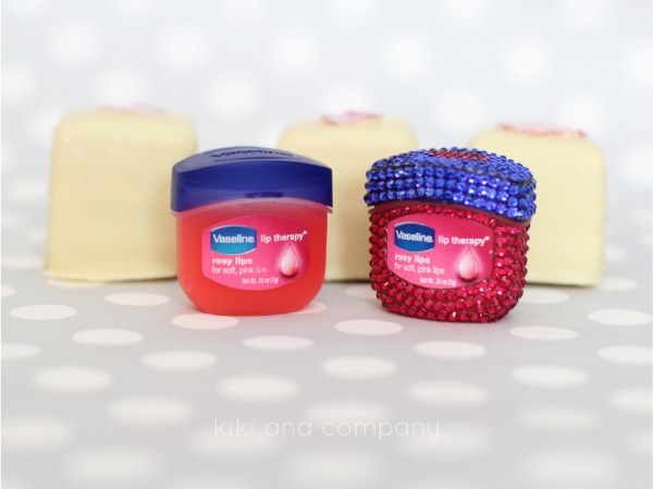 Vaseline Rose Therapy Lips. Cute idea for Valentines Day