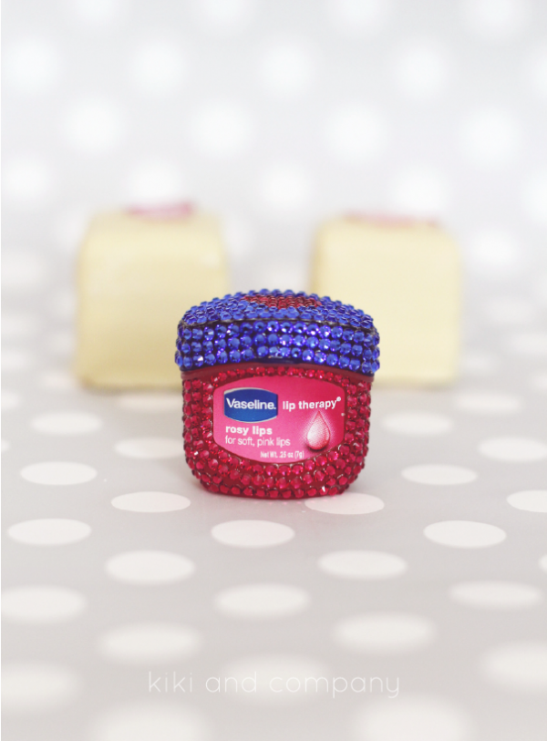 Vaseline Rose Therapy Lips. LOVE!
