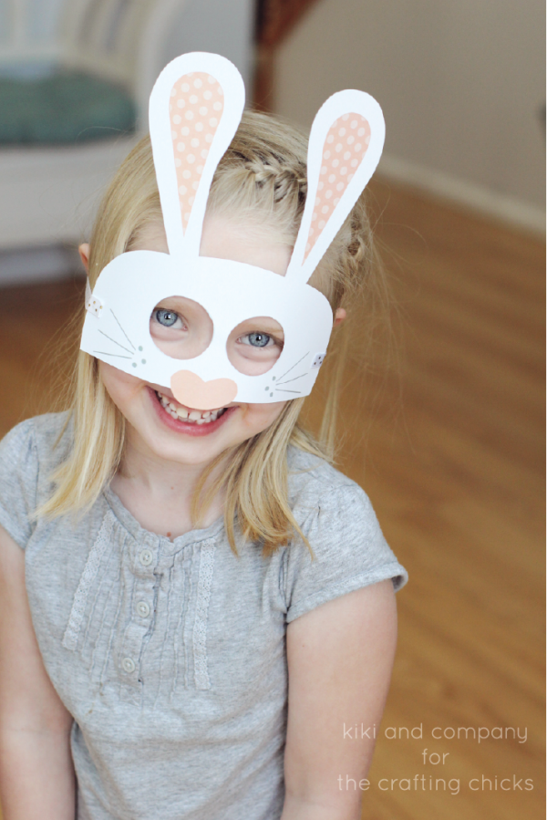 Free Easter Masks at the crafting chicks. LOVE THESE!