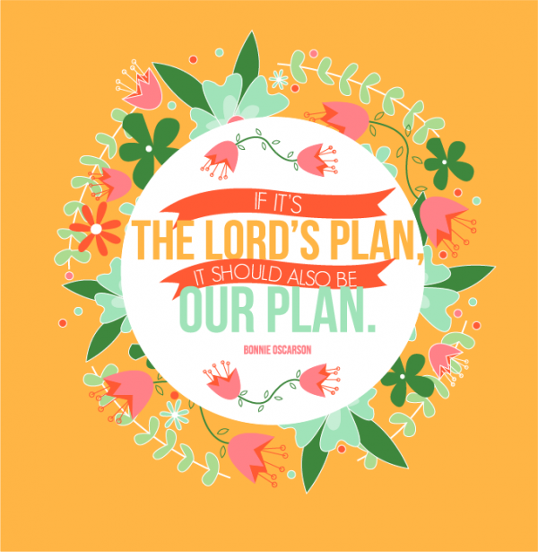 General Womens Meeting-The Lord's Plan