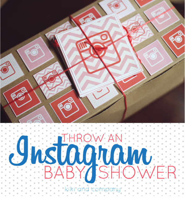 Throw an Instagram Baby Shower