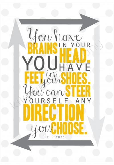You have brains in your head printable at kiki and company