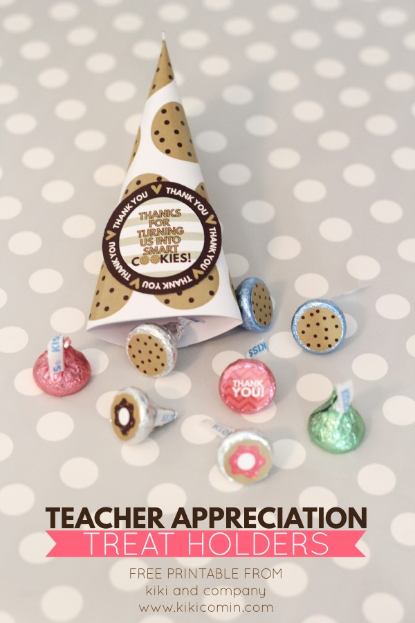 Teacher Appreciation Treat Holders from kiki and company. Can't wait to use these!
