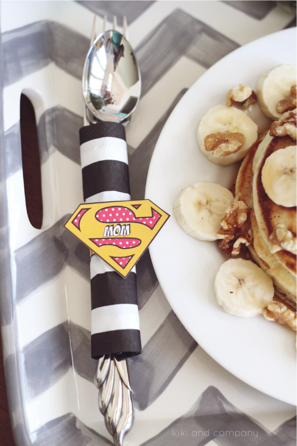 The World's Best Supermom Breakfast Printables. LOVE!