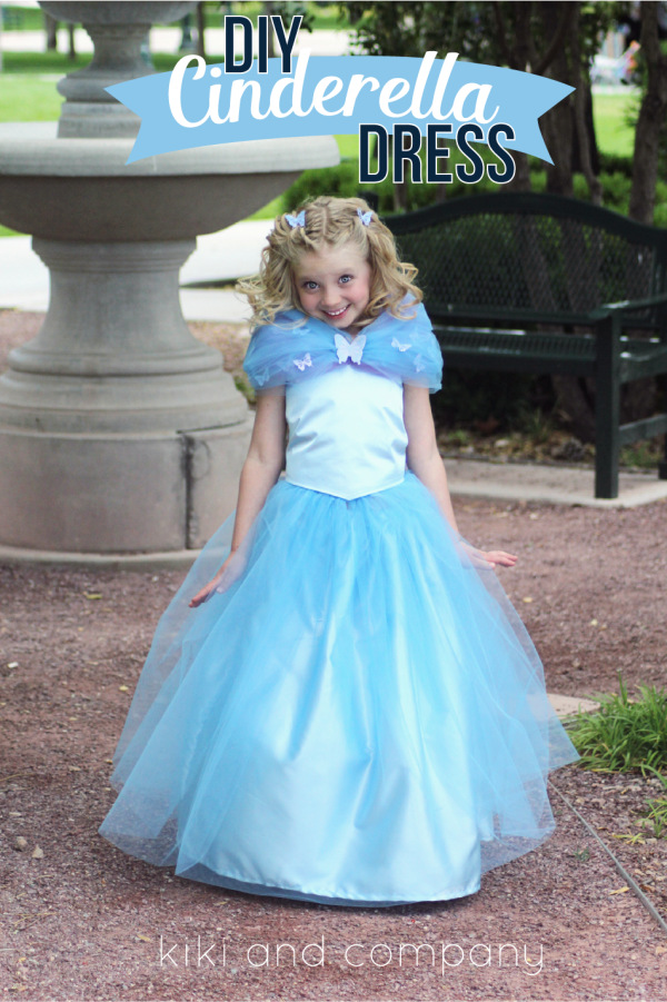 DIY Cinderella Ball Gown Dress part 1: The Top - Kiki & Company