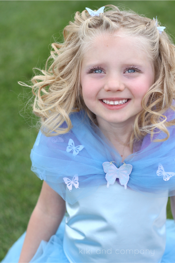 DIY Cinderella Ball Gown Dress Tutorial at kiki and company. SO cute!