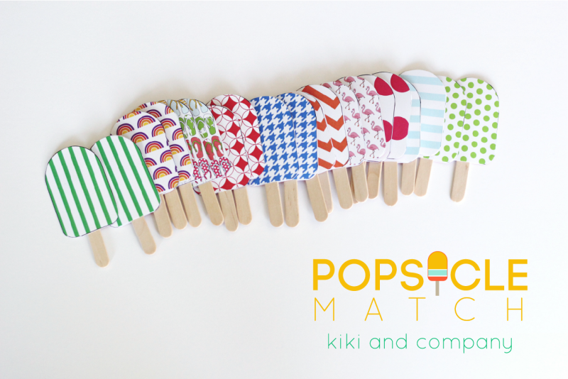 Popsicle Match from kiki and company.