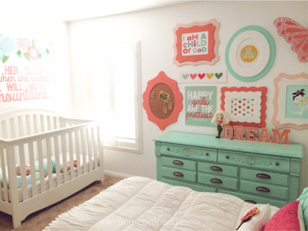 Girl's Room Makeover at Kiki and Company. 1