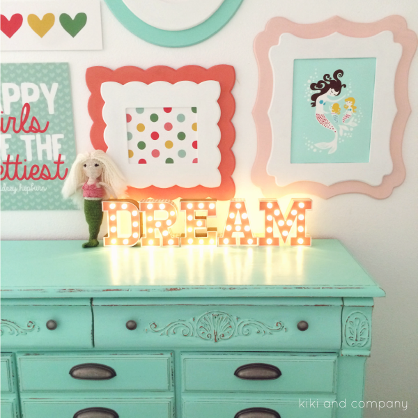 Girl's Room Makeover at Kiki and Company. 6