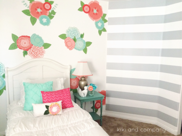 Girl's Room Makeover at Kiki and Company. 7