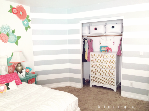 Girl's Room Makeover at Kiki and Company.3