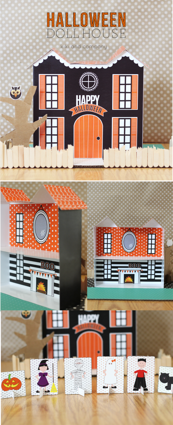 Halloween Doll House from kiki and company. super cute!