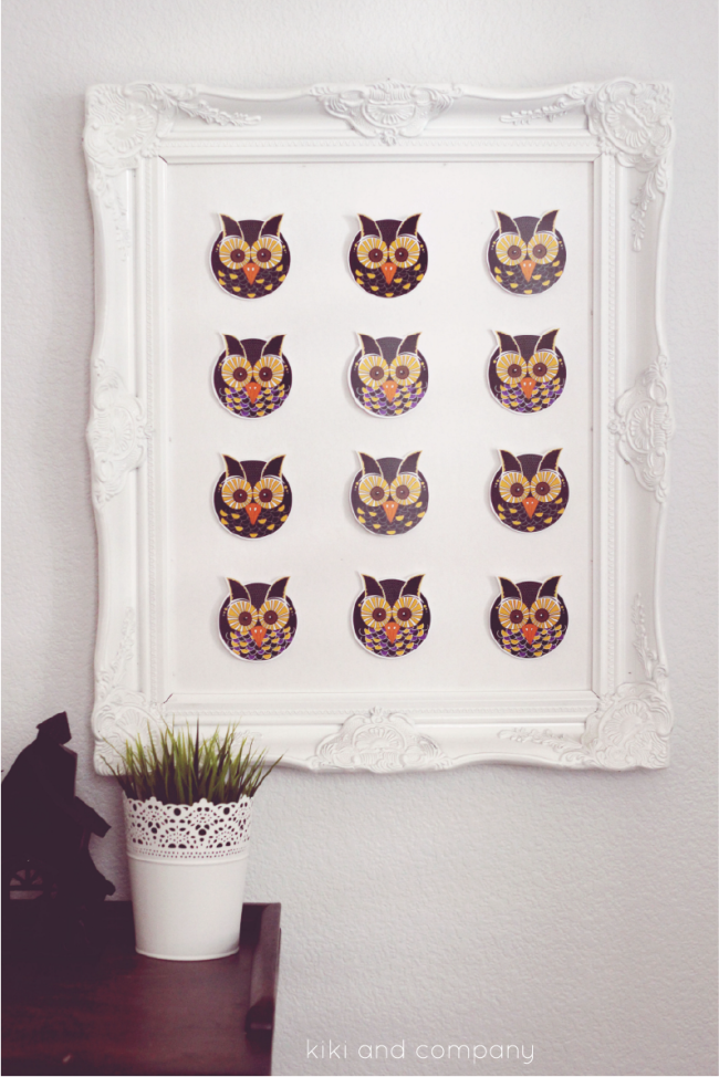 Owl Specimen Art from kiki and company. cute!
