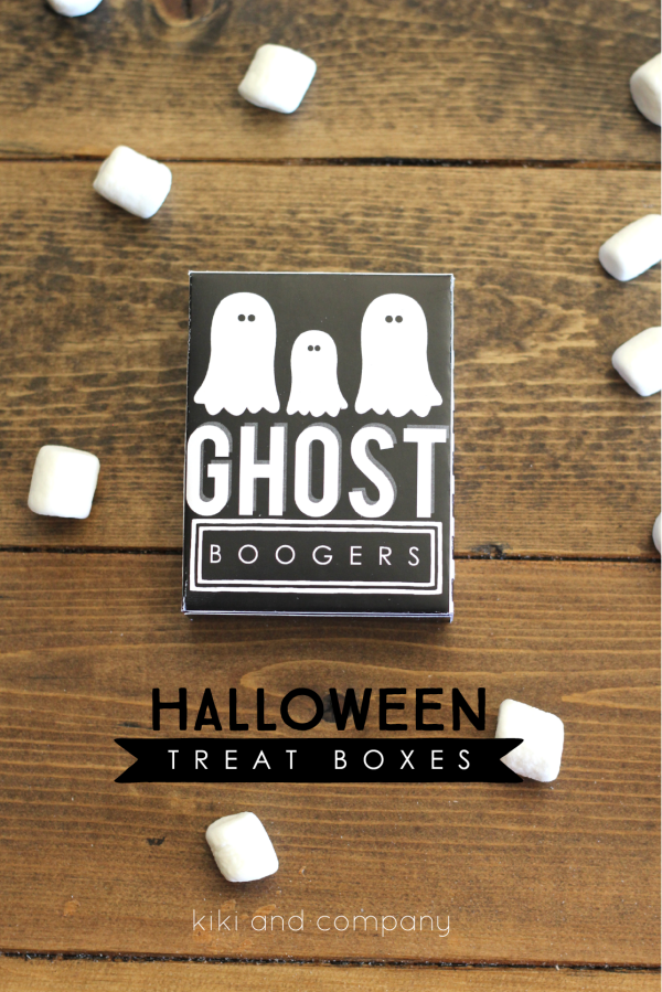 Halloween Treat Boxes from Kiki and Company