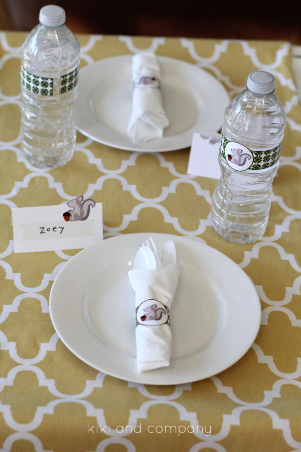 Kids Thanksgiving Table Decor  from kiki and company. Super Cute