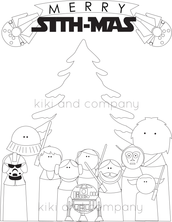 Christmas Coloring sithmas