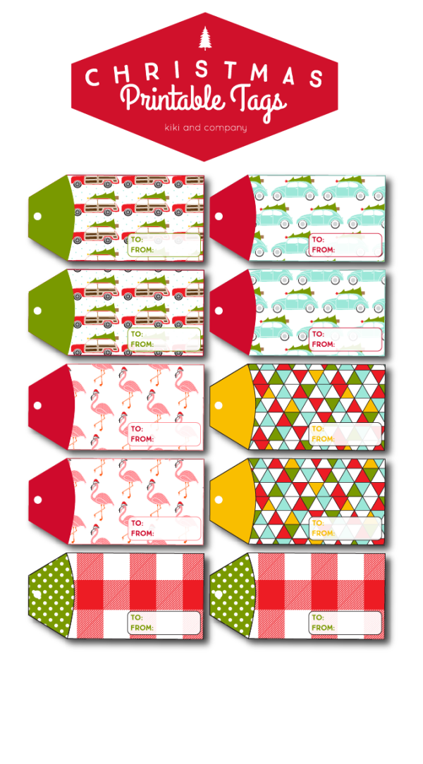Christmas Printable Tags from Kiki and Company. Love all of these!