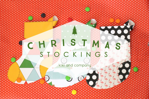Christmas Stockings from kiki and company