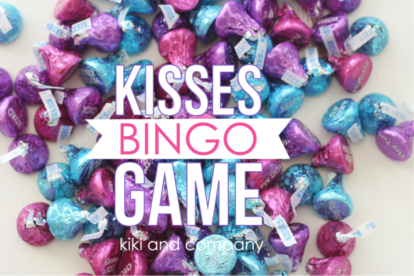 Hershey Conversation Kisses Bingo Game