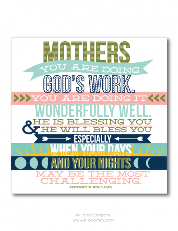 """""""Mother-quote-to-get-you-through-this-day-Free-p</p"""