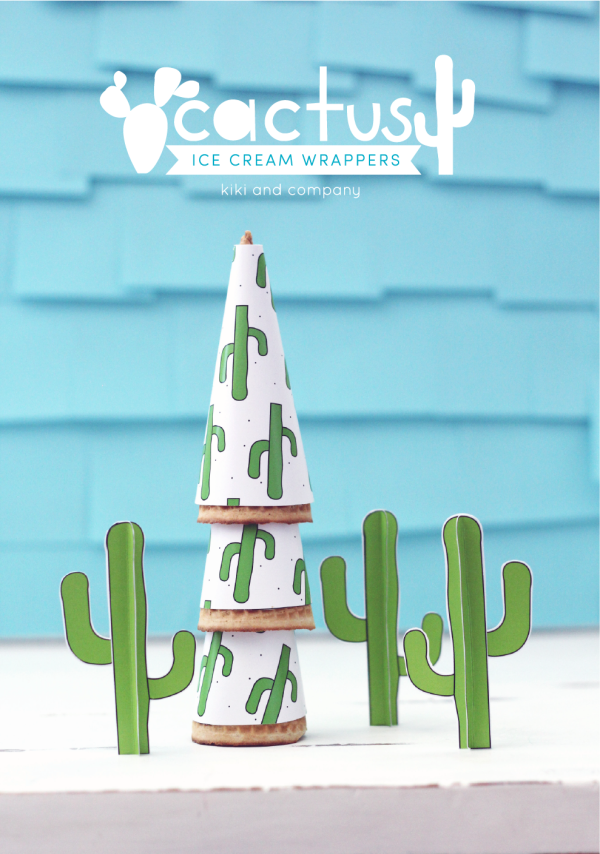 cactus party printables from kiki and company. cutest ever