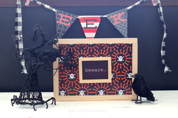 Free Printable Halloween Signs from kiki and company. Super cute.