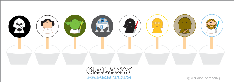 Galaxy Paper Tots (99 cent download) - Kiki & Company
