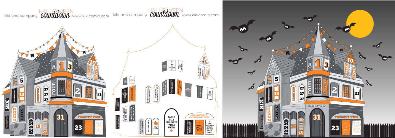 Halloween countdown house free download kiki company for House images free download