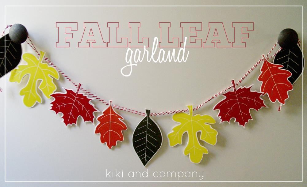 Thanksgiving Fall Leaves