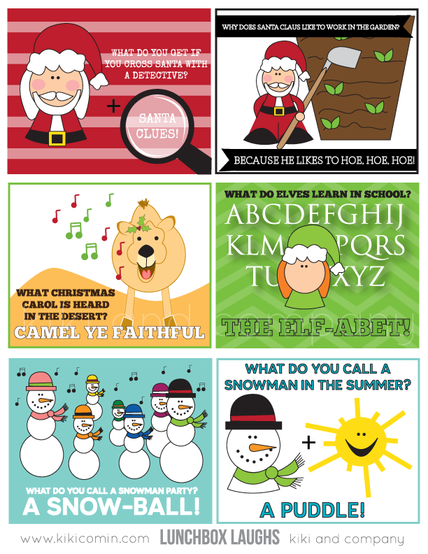 christmas lunch notes printable featured on design dazzle