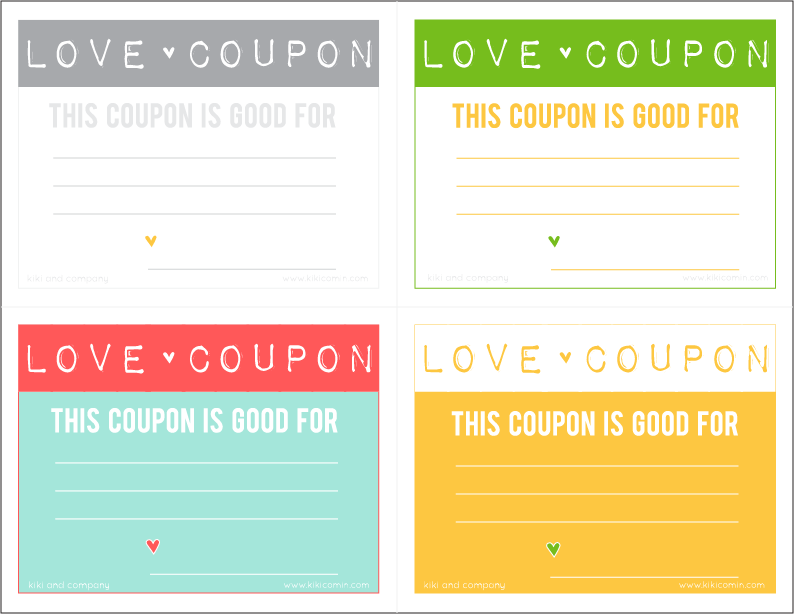 Love coupons free download kiki company for Coupon book template for husband