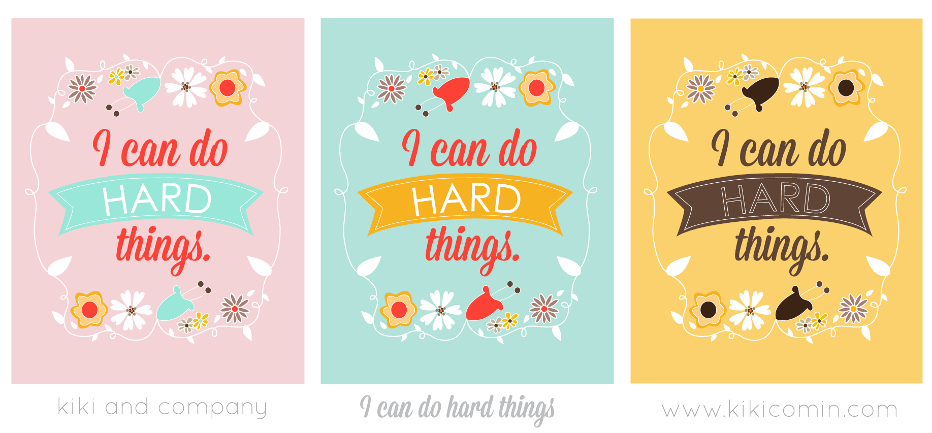 New Print I Can Do Hard Things