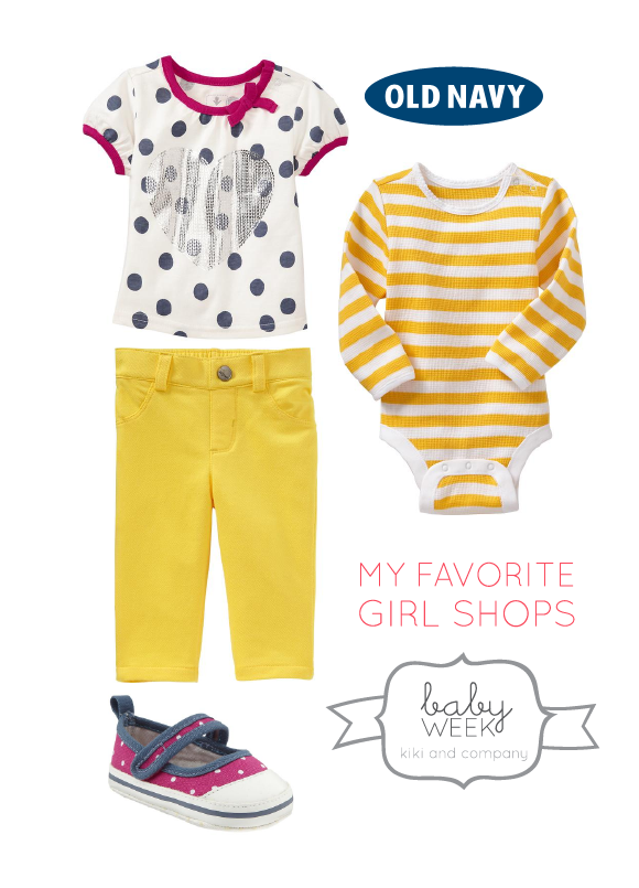 Cute Clothes for Girls at Old Navy