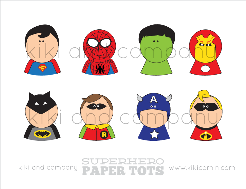 Today I will be my own Superhero {free printables
