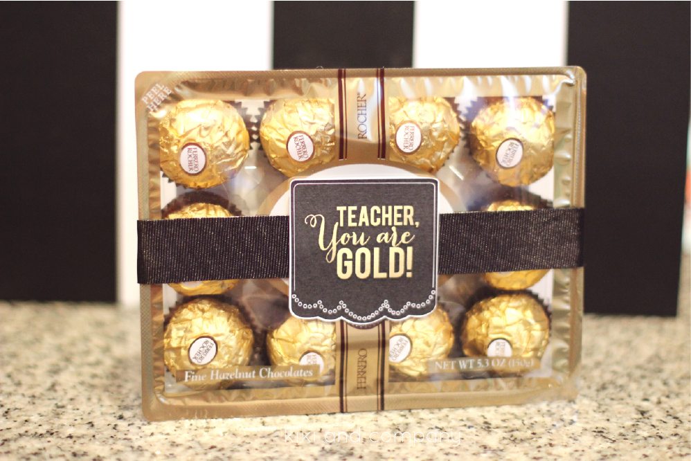 Ioanna's Notebook - DIY Teacher appreciaton gift ideas