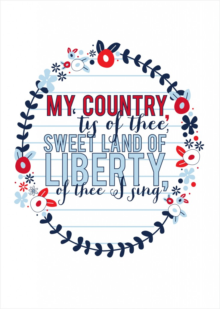 Lyric my country tis of thee lyrics : My country tis of thee   Cantech