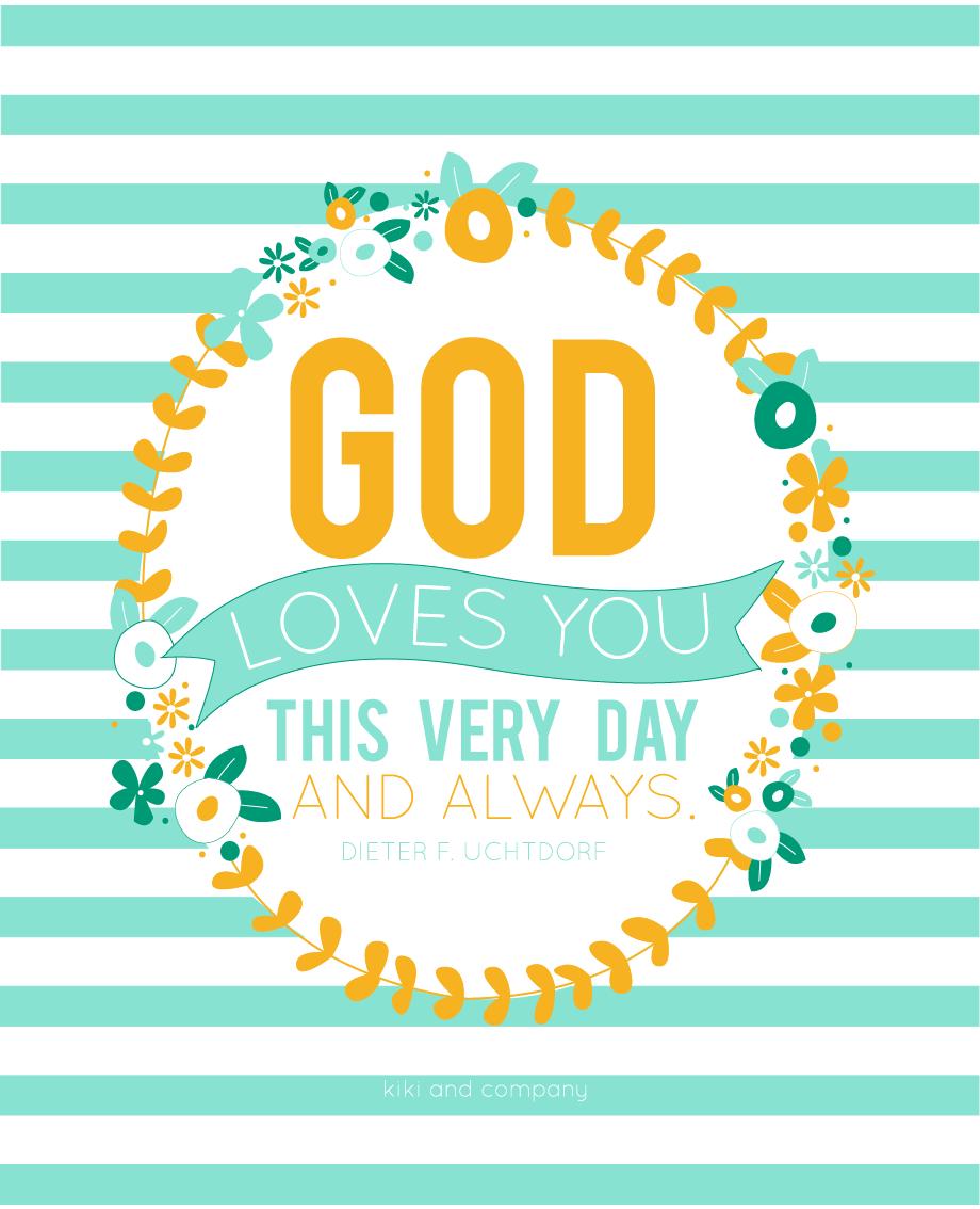 Image result for god loves you lds
