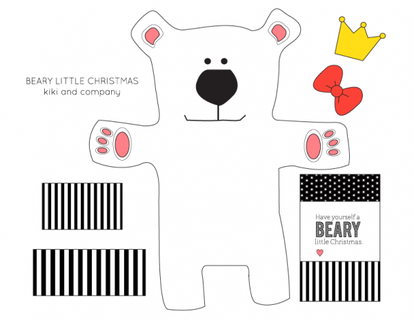 Free Christmas Gift Card or Money Card Holder {free printable ...