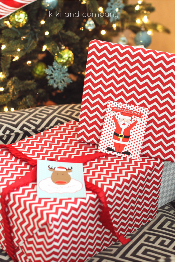 Free Printable Santa Tags from kiki and company. LOVE these