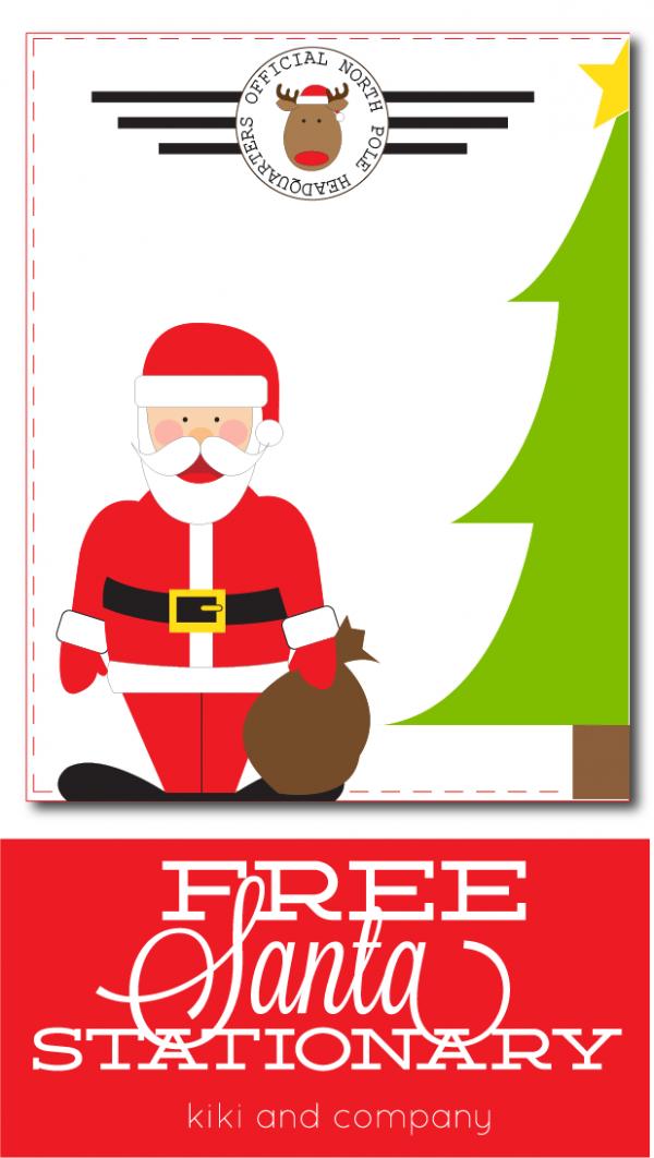 Free Santa Stationary