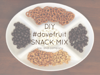 #dovefruit snack mix from kiki and company