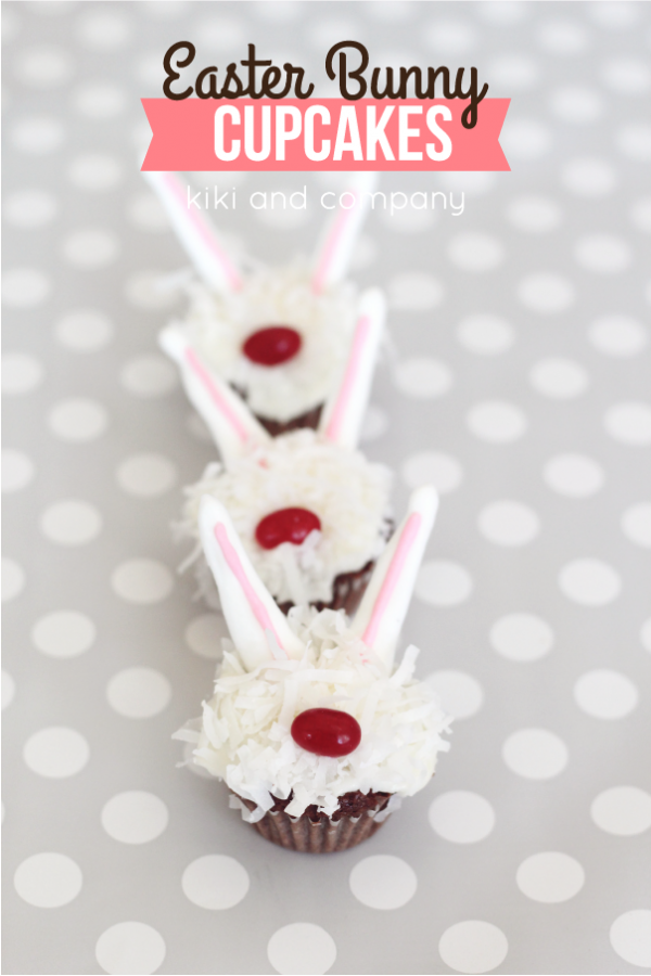 Cupcakes- Easter Bunny 3