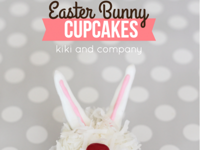 Cupcakes- Easter Bunny