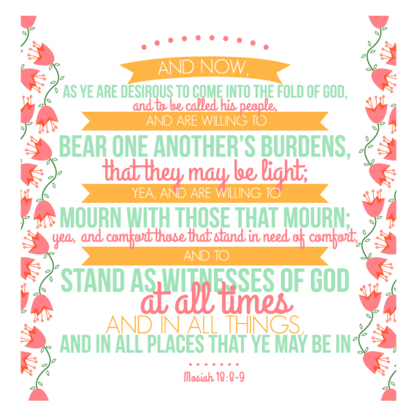 General Womens Meeting- Bear one another's burdens
