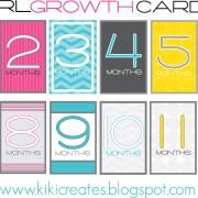 GIRL GROWTH CARDS