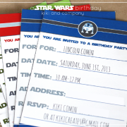 star wars party 1