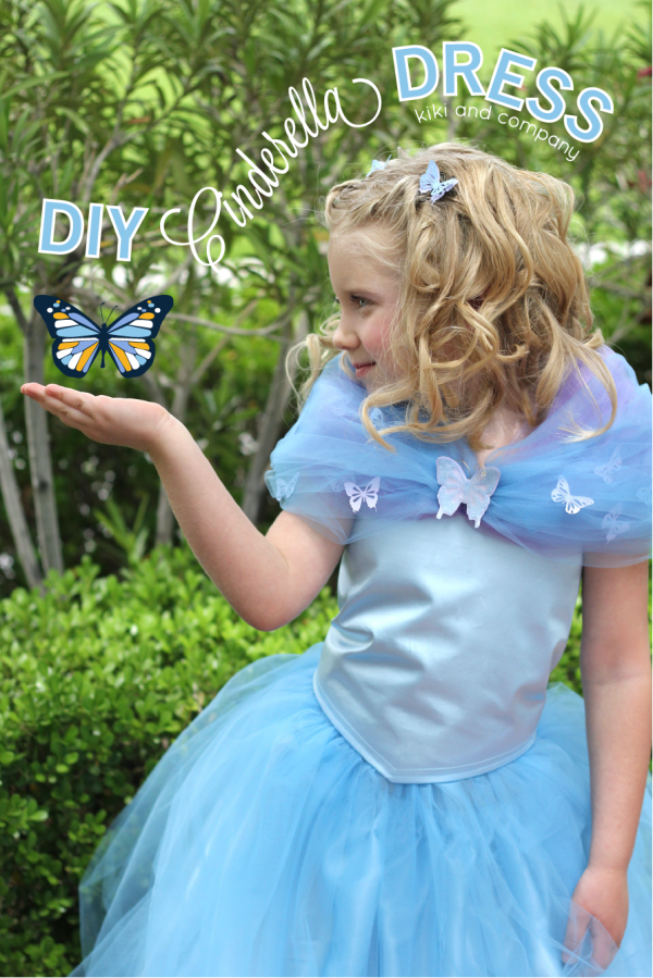 DIY Cinderella Dress from Kiki and Company